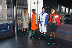 Backstage prep for the Romeo Hunte Spring Summer 2019 collection runway show in PH-D at Dream Downtown New York City on July 11, 2018; during New York Fashion Week: Men's Spring Summer 2019.
