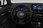 Car pictures of steering wheel view of a 2018 Toyota C-HR XLE-Premium 5 Door SUV Steering Wheel