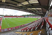 General view of the ground during Stevenage vs Luton Town, EFL League 2 Football at the Lamex Stadium on 20th August 2016