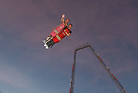 """The thrilling """"Boardwalk Flight"""" ride was part of the new Coney Island in 2014 but it was shut down after two seasons."""