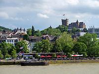 Burg Klopp, Bingen, Rheinland-Pfalz, Deutschland, Europa, UNESCO Weltkulturerbe<br /> Castle Klopp, Bingen, Rhineland-Palatinate, Germany, Europe