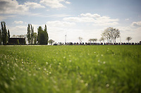peloton through the flat fields of the Kempen<br /> <br /> 102nd Scheldeprijs 2014
