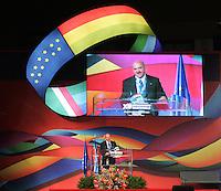 LUIGI ANGELETTI.Roma 02/03/2010 XV Congresso Nazionale della UIL..XV National Congress of UIL, italian Trade Union..Photo Samantha Zucchi Insidefoto