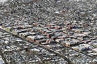 aerial of Boulder, CO