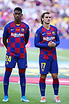 Presentation 1st team FC Barcelona 2019/2020.<br /> Junior & Antoine Griezmann.