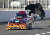 Feb 11, 2017; Pomona, CA, USA; NHRA top alcohol funny car driver Chris Marshall during the Winternationals at Auto Club Raceway at Pomona. Mandatory Credit: Mark J. Rebilas-USA TODAY Sports