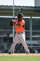 Baltimore Orioles Ronarsy Ledesma (60) during a minor league spring training game against the Minnesota Twins on March 28, 2015 at the Buck O'Neil Complex in Sarasota, Florida.  (Mike Janes/Four Seam Images)