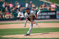 Columbus Clippers relief pitcher Shawn Armstrong (51) during a game against the Rochester Red Wings on August 9, 2017 at Frontier Field in Rochester, New York.  Rochester defeated Columbus 12-3.  (Mike Janes/Four Seam Images)