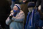 Hamilton Accies v St Johnstone…09.12.17…  New Douglas Park…  SPFL<br />Cold saints fans watch the game<br />Picture by Graeme Hart. <br />Copyright Perthshire Picture Agency<br />Tel: 01738 623350  Mobile: 07990 594431