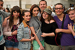 A group of young people in Cracow.