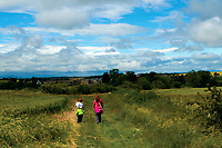 Walking towards Bolton, East Lothian