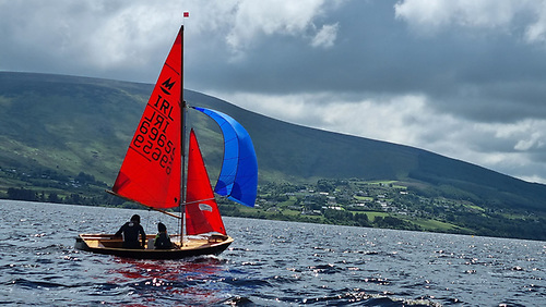 Renaissance Thomas and Ben Chaix in the lead of the Mirror Easterns