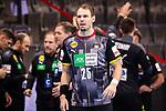 Kai Haefner (Deutschland #25) ; EHF EURO-Qualifikation / EM-Qualifikation / Handball-Laenderspiel: Deutschland - Estland am 02.05.2021 in Stuttgart (PORSCHE Arena), Baden-Wuerttemberg, Deutschland.<br /> <br /> Foto © PIX-Sportfotos *** Foto ist honorarpflichtig! *** Auf Anfrage in hoeherer Qualitaet/Aufloesung. Belegexemplar erbeten. Veroeffentlichung ausschliesslich fuer journalistisch-publizistische Zwecke. For editorial use only.