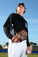 March 1, 2010:  Pitcher Scott Downs (37) of the Toronto Blue Jays poses for a photo during media day at Englebert Complex in Dunedin, FL.  Photo By Mike Janes/Four Seam Images