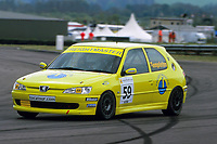 #59 Annie Templeton. Techspeed with Freightmaster. Peugeot 306R.