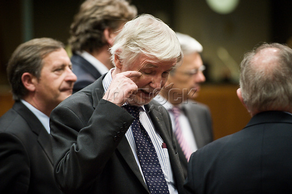 Finnish Foreign Minister Erkki  prior to the European Union Foreign Ministers Council at EU headquarters  in Brussels, Belgium on 29.01.2015 Federica Mogherini , EU High representative for foreign policy called extraordinary meeting on the situation in Ukraine after the attack on Marioupol.  by Wiktor Dabkowski