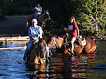 A horseback ride to Scotts Lake, above Hope Valley, in Alpine County, Ca. on Thursday, Aug. 4, 2011.  .Photo by Cathleen Allison