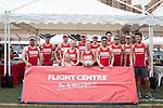 Flight Centre team during Swire Touch Tournament on 03 September 2016 in King's Park Sports Ground, Hong Kong, China. Photo by Marcio Machado / Power Sport Images