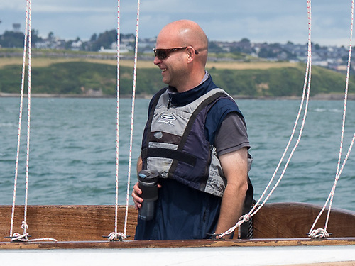Darragh Connolly, Rear Admiral (Keelboats) of the Royal Cork Yacht Club Photo: Bob Bateman