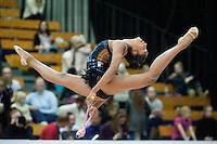 "February 14, 2016 - Tartu, Estonia - NASTASYA GENERALOVA of USA  wins silver in the ribbon Event Final at ""Miss Valentine"" 2016 international tournament."
