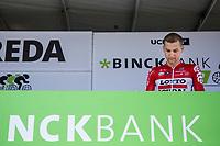 2 times Eneco Tour winner Tim Wellens (BEL/Lotto-Soudal) pre race signing in <br /> <br /> Binckbank Tour 2017 (UCI World Tour)<br /> Stage 1: Breda (NL) > Venray (NL) 169,8km