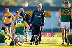 Kerry Manager Peter Keane after the Munster Football Championship game between Kerry and Clare at Fitzgerald Stadium, Killarney on Saturday.
