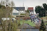 peloton up the Smeysberg<br /> <br /> 61st Brabantse Pijl 2021 (1.Pro)<br /> 1 day race from Leuven to Overijse (BEL/202km)<br /> <br /> ©kramon