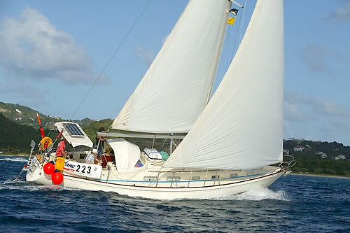 Conor O'Regan circumnavigated the globe in his 38-foot yacht Pamina
