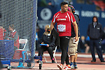 Glasgow 2014 Commonwealth Games<br /> <br /> Brett Morse (Wales) competing in the men's discus final.<br /> <br /> 31.07.14<br /> ©Steve Pope-SPORTINGWALES