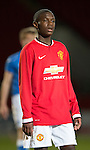 St Johnstone Academy v Manchester United Academy....17.04.15   <br /> Venancio Da Silva Monteiro<br /> Picture by Graeme Hart.<br /> Copyright Perthshire Picture Agency<br /> Tel: 01738 623350  Mobile: 07990 594431