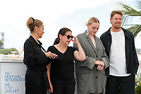 """CANNES, FRANCE - JULY 15: Monika Mecs, Ildiko Enyedi, Luna Wedler, Gijs Naber at the """"A Felesegem Tortenete/The Story Of My Wife"""" photocall during the 74th annual Cannes Film Festival on July 15, 2021 in Cannes, France. <br /> CAP/GOL<br /> ©GOL/Capital Pictures"""