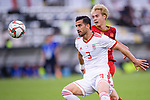 Ehsan Haji Safi of Iran (L) battles for the ball with Nguyen Van Toan of Vietnam (R) during the AFC Asian Cup UAE 2019 Group D match between Vietnam (VIE) and I.R. Iran (IRN) at Al Nahyan Stadium on 12 January 2019 in Abu Dhabi, United Arab Emirates. Photo by Marcio Rodrigo Machado / Power Sport Images