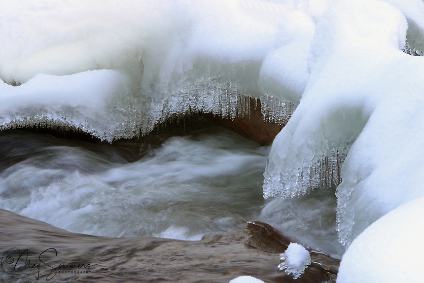 Yellowstone can receive an average of 150 inches of snow during the winter.  Drop by drop it melts in the Spring and heads out for its epic journey to either the Gulf of Mexico or the Pacific. There are several places in Yellowstone where a lake drains into both!