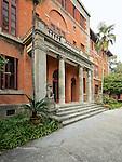 Zhejiang University - Severance Hall (Originally The University's Main Building).  Hangzhou (Hangchow).