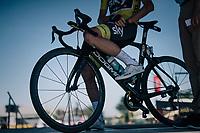 Chris Froome (GBR/SKY) at sign-on<br /> <br /> 104th Tour de France 2017<br /> Stage 15 - Laissac-Sévérac l'Église › Le Puy-en-Velay (189km)