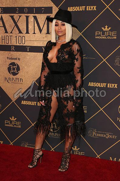25 June 2017 - Hollywood, California - Blac Chyna. 2017 MAXIM Hot 100 Party held at the Hollywood Palladium. Photo Credit: F. Sadou/AdMedia