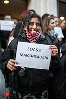 """27.02.2015 - """"#MaiConSalvini - SOAS Non Ti Vuole!!"""" - London Demo"""