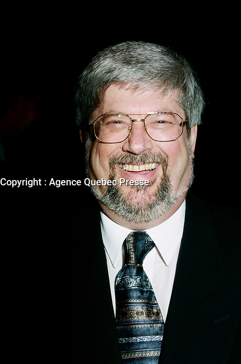 Montreal (Qc) CANADA -March 23, 1999<br /> -File Photo -<br /> <br /> Guy Julien, Quebec Industry Minister at Americana 1999