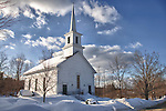 The Central Congregational Church in New Salem, Massachusetts