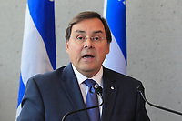 FILE PHOTO : Guy Breton  in 2015<br /> PHOTO : Pierre Roussel - Agence Quebec presse