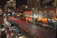 F1 fans enjoying Fan Fest, VIP events on 6th Street Entertainment District in downtown Austin, Texas..