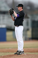 March 22nd 2009:  Pitcher Michael Kellar (23) of the Niagara University Purple Eagles during a game at Sal Maglie Stadium in Niagara Falls, NY.  Photo by:  Mike Janes/Four Seam Images