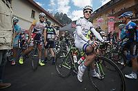 2013 Giro d'Italia.stage 11.Tarvisio - Vajont: 182km..Koen de Kort (NLD)
