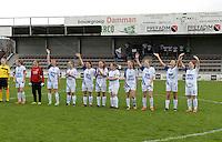 Finale Beker van West-Vlaanderen Vrouwen FC Knokke - SK Opex Girls Oostende :  FC Knokke <br /> foto VDB / BART VANDENBROUCKE