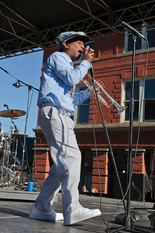 Kermit Ruffin brings the sounds of New Orleans to the Montana Folk Festival