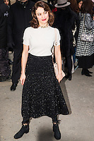 Olga Kurylenko arrives at the Chanel Fashion Show during Paris Fashion Week : Haute Couture F/W 2017-2018 on January 24, 2017 in Paris, France.