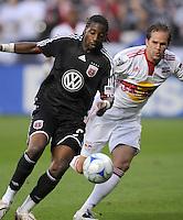DC United forward Ange N'Silu (9)  DC United defeated the New York Red Bulls 2-0, at RFK Stadium ,Thursday June 4, 2009.