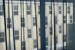 Italy hotel bedroom window.