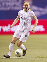 VANCOUVER, CANADA - Sunday, January 22, 2012: The United State defeats Guatemala in the CONCACAF Women's Olympic Qualifying tournament.