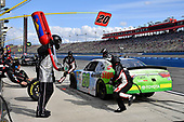 Christopher Bell, Joe Gibbs Racing, Toyota Camry GameStop TurtleBeach pits